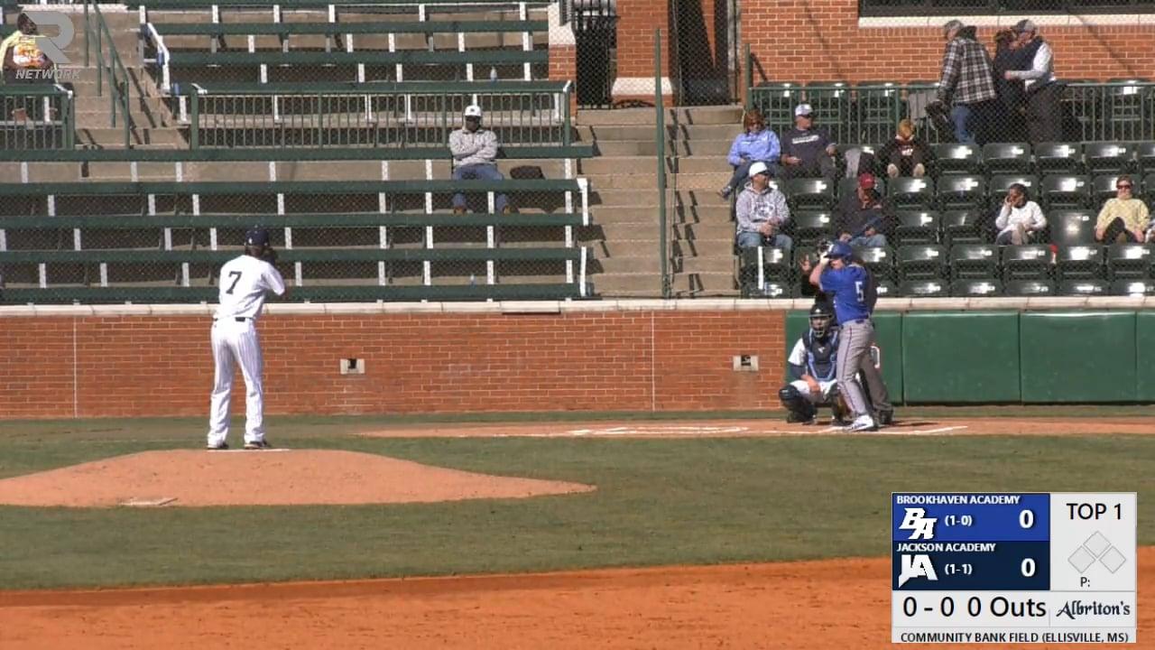 Varsity Baseball vs Brookhaven Academy - 02-20-21