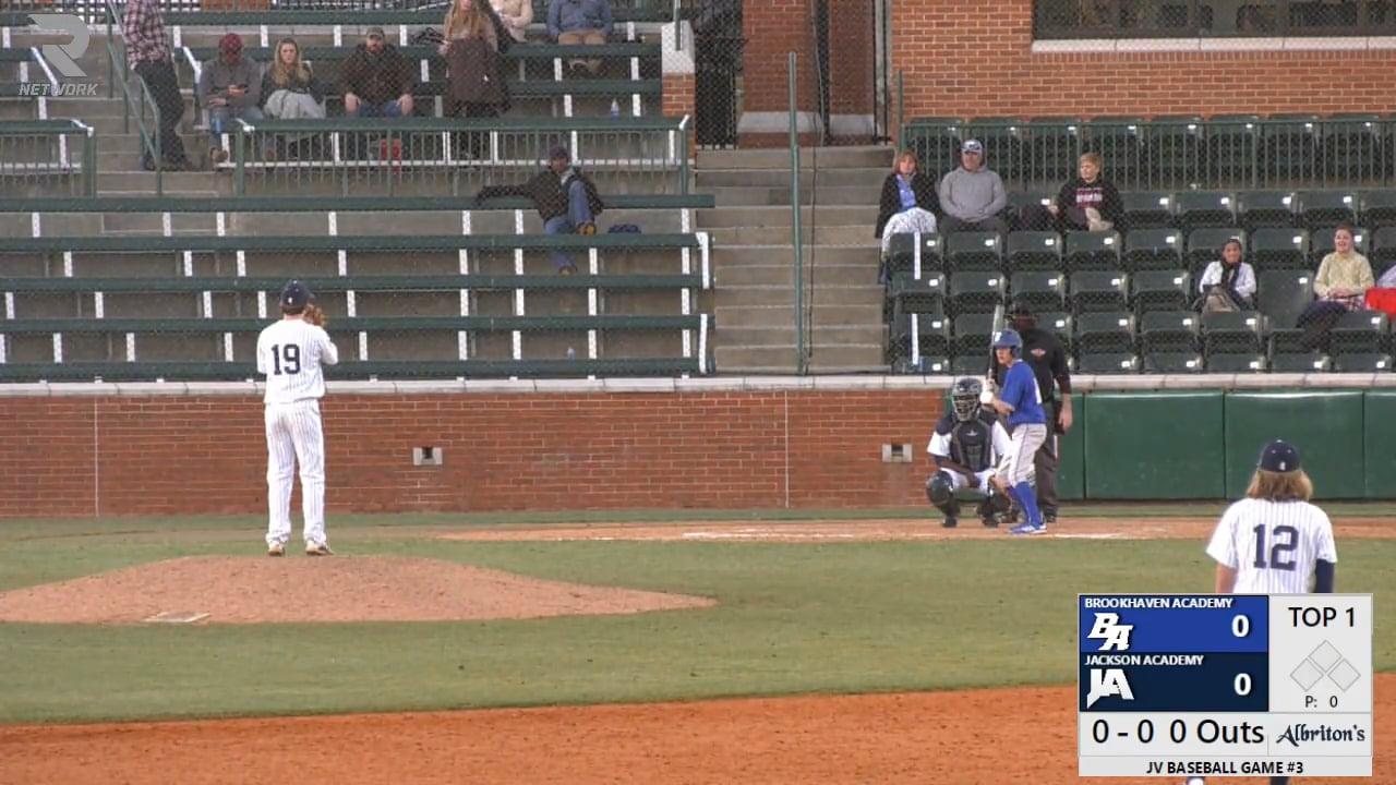 JV Baseball vs Brookhaven Academy - 02-20-21