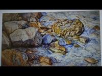 Wet Rocks #12