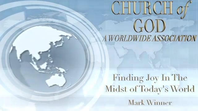 Finding Joy in the Midst of Today's World