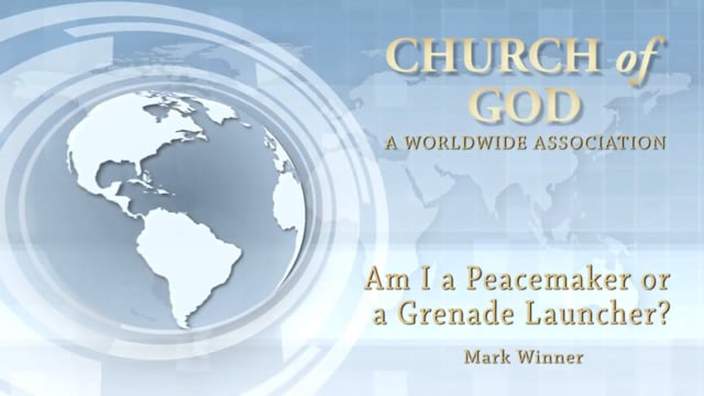 Am I a Peacemaker or a Grenade Launcher?