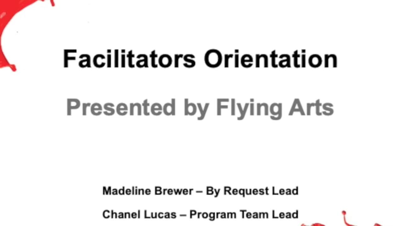 FlyingArts_FacilitatorsOrientation2021 - SD 480p