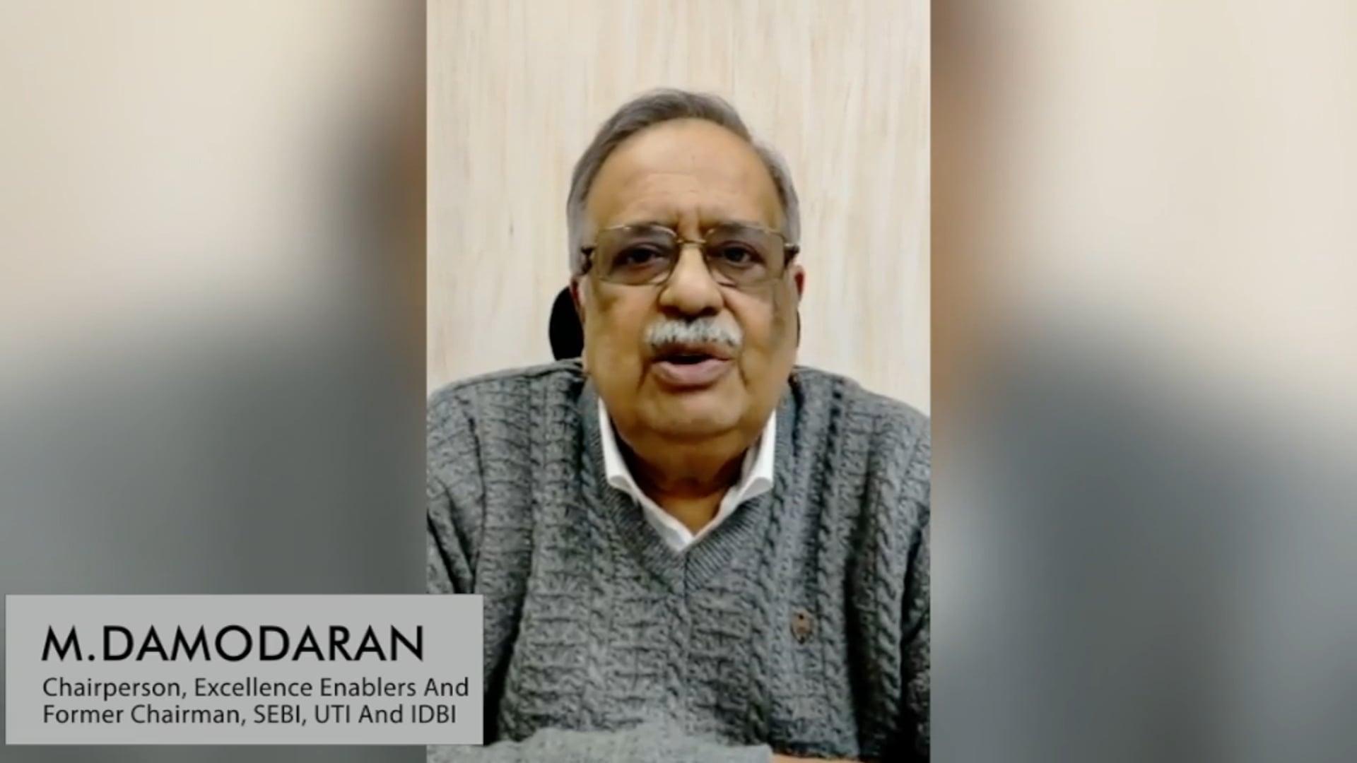 M. Damodaran on 'The Right Choice'