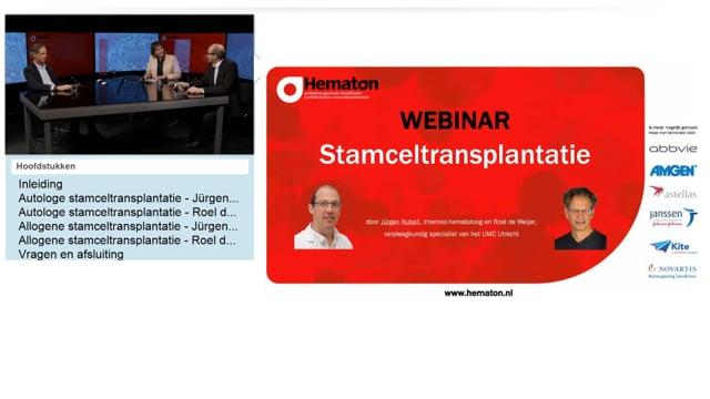 Webinar stamceltransplantatie
