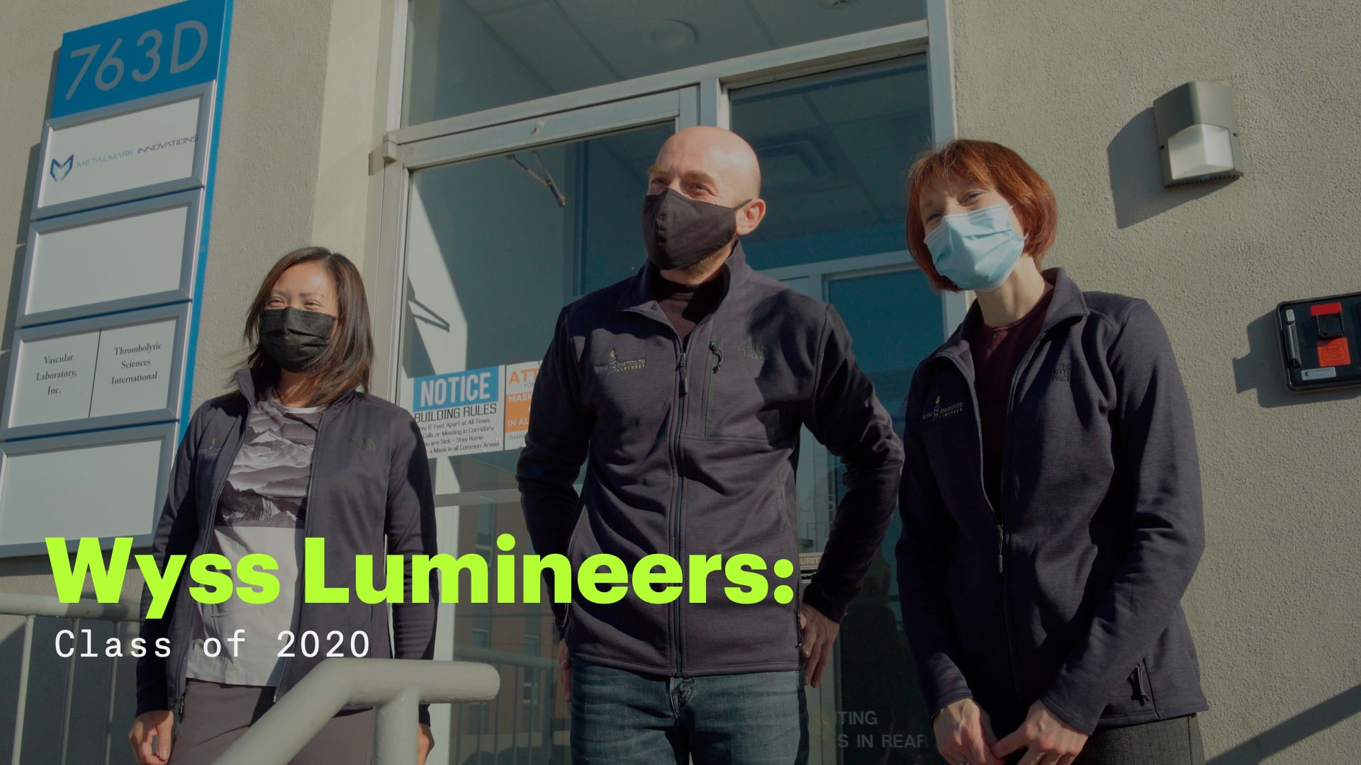 Wyss Lumineers: Class of 2020