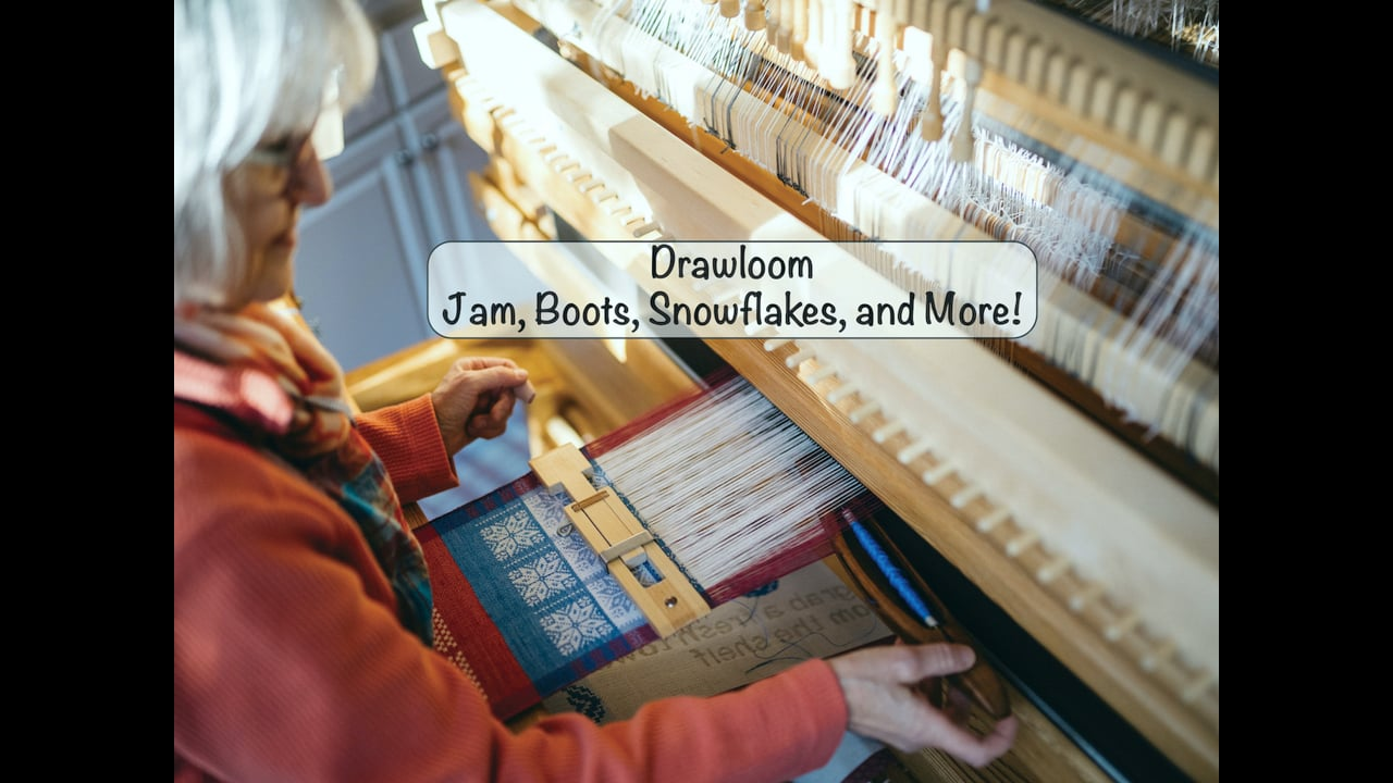 Drawloom Jam, Boots, Snowflakes, and More!