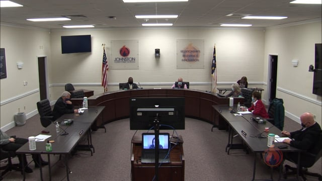 JC Board of Education Special Session - February 22, 2021