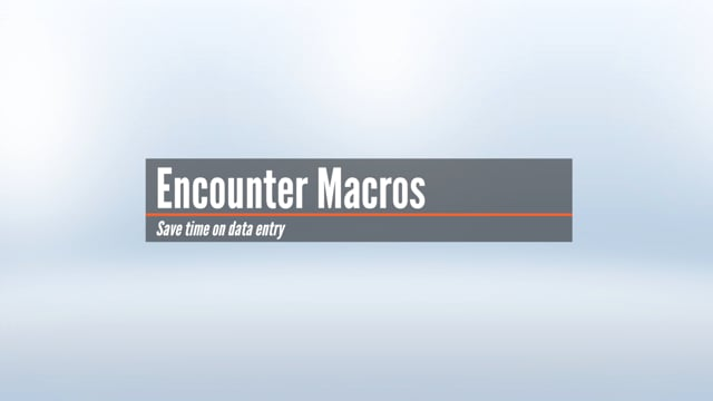 Encounter Macros
