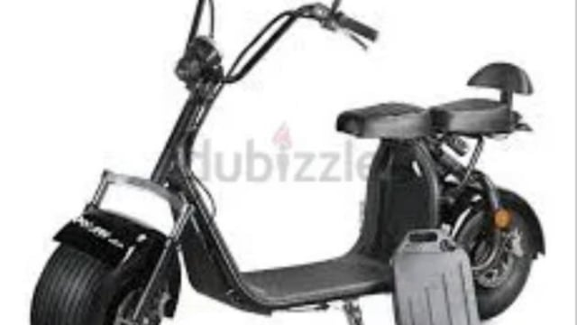 Fat tyre scooter 60 v Wit...