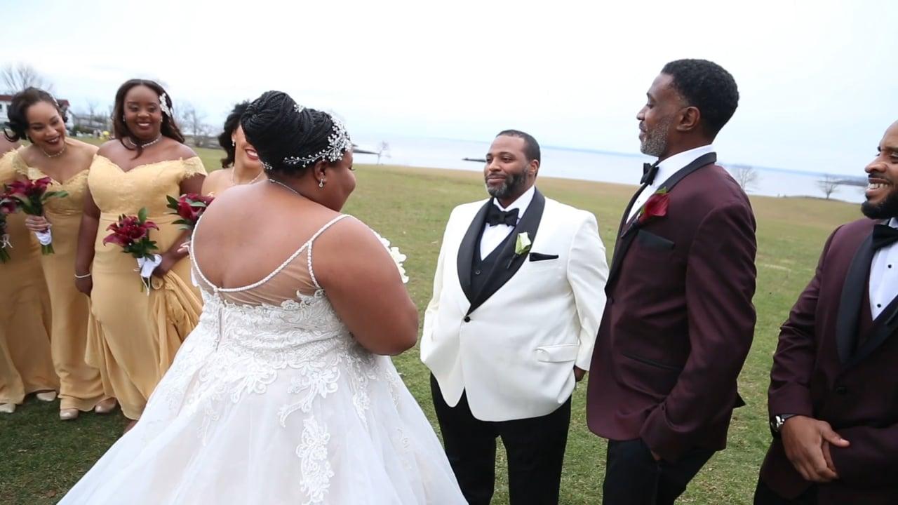 Natasha and Jamall's Wedding Day Highlights