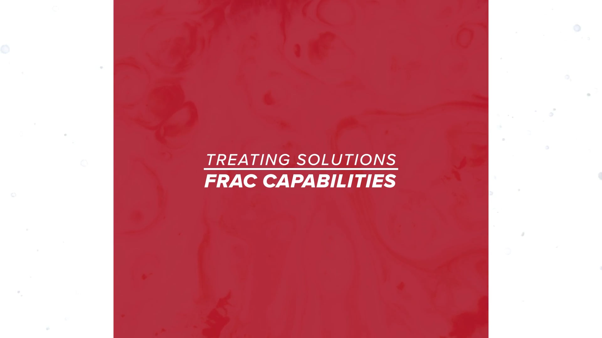 PureChem Services - Frac Capabilities