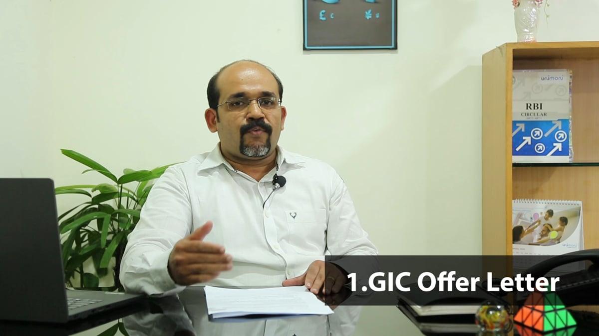GIC Remittance to Canada
