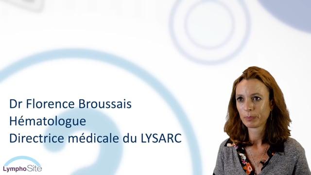 Miniature de la vidéo Le Dr Florence BROUSSAIS nous parle du LymphoSite.fr