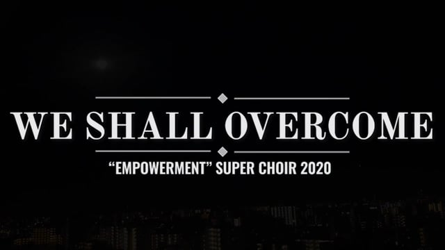 We Shall Overcome for the As One concert