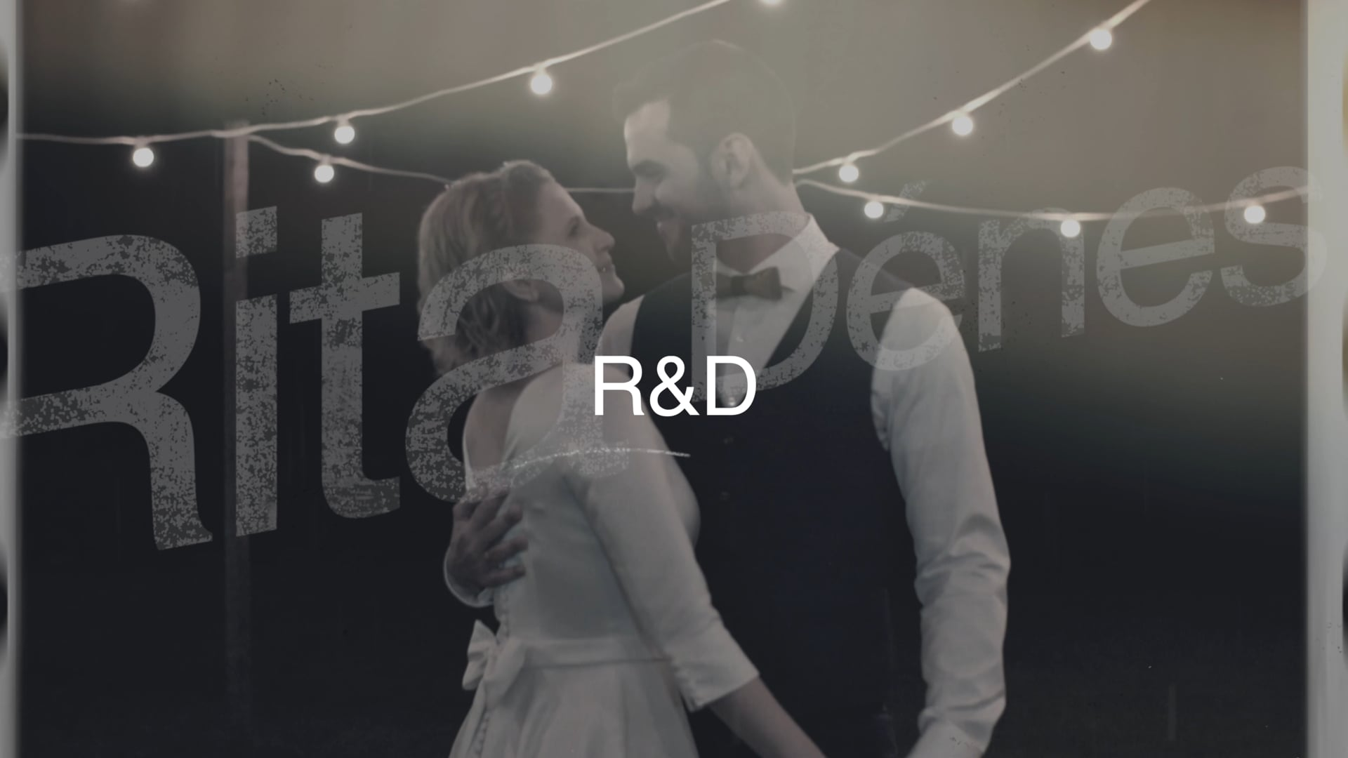Rita és Dénes - Wedding Higlight 21:9