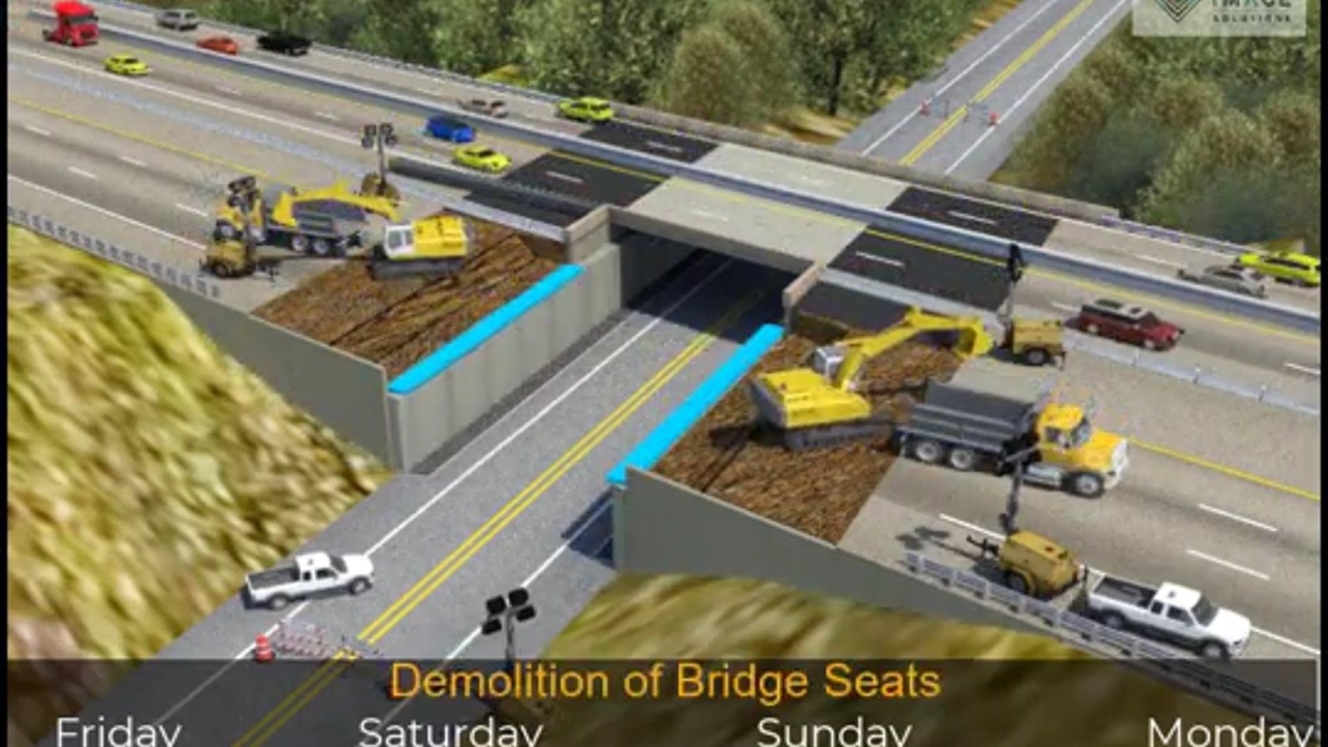 RIS Bridge Replacements 4D Video