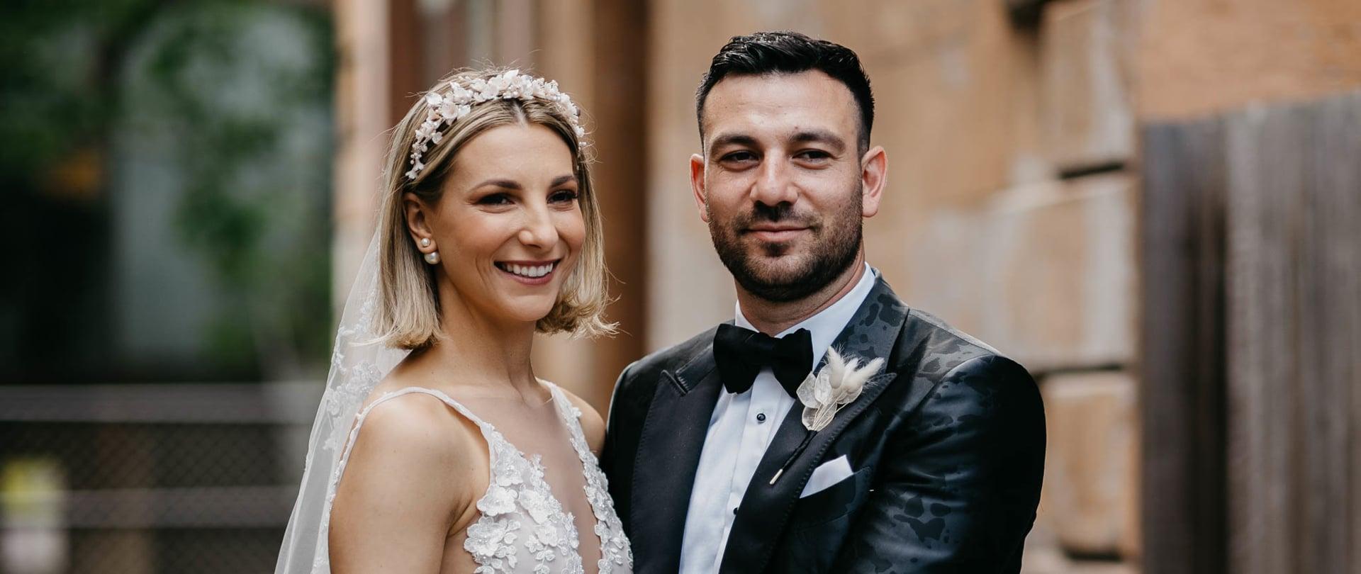 Jamie & Erin Wedding Video Filmed at Sydney, New South Wales