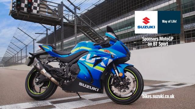 Suzuki Moto GP Ad Bumpers