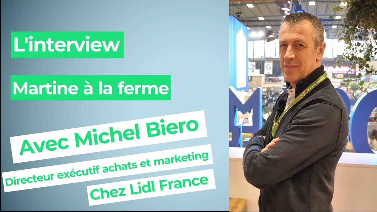 """Michel Biero, directeur des achats Lidl France : """"Conduire la batteuse New Holland, j'adore"""""""