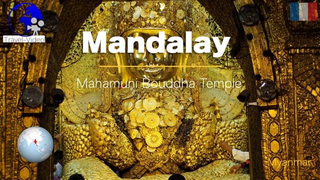 Mandalay, Mahamuni Buddha temple • Myanmar (FR)