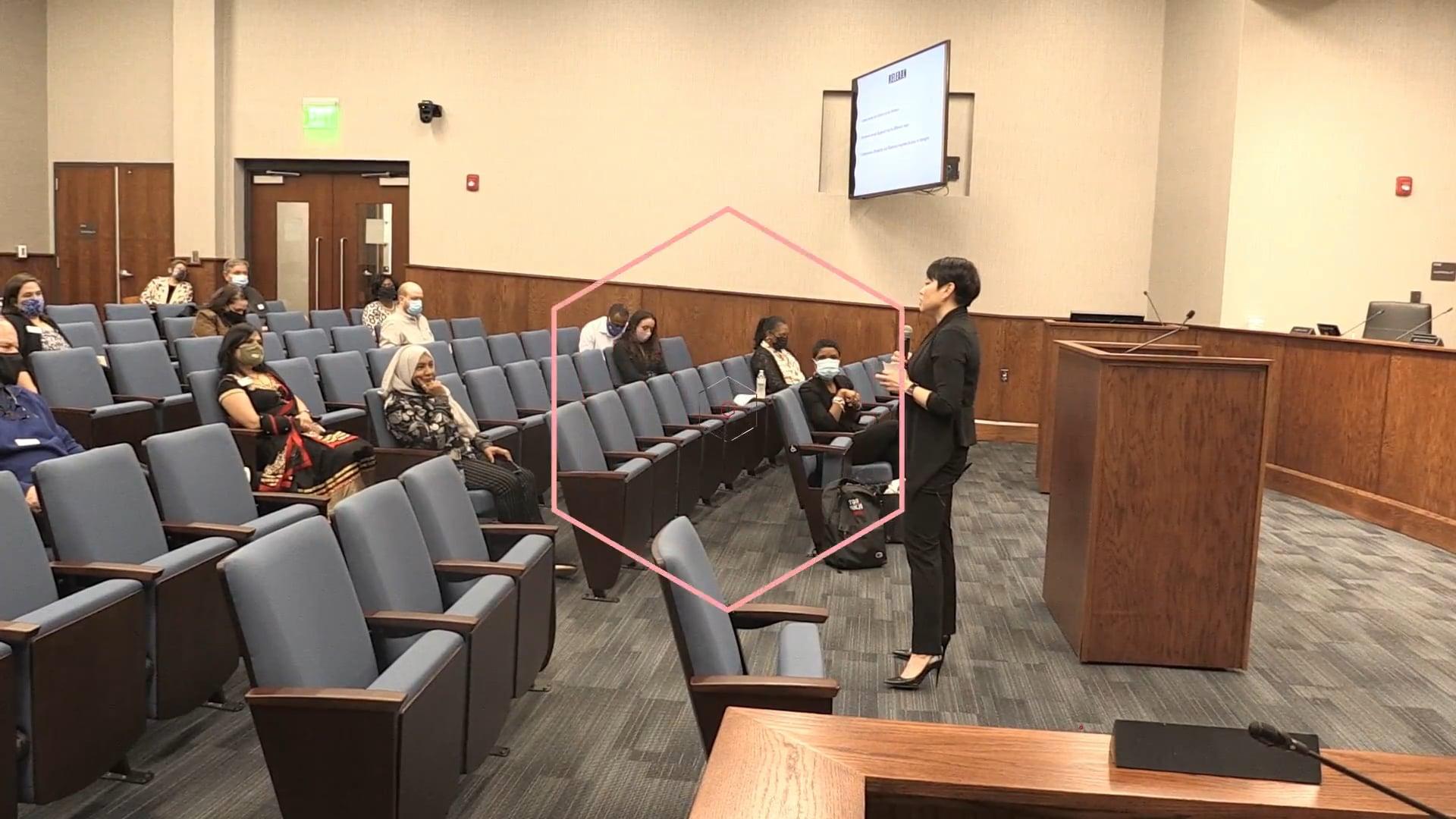 Cindy Wilson speaking event