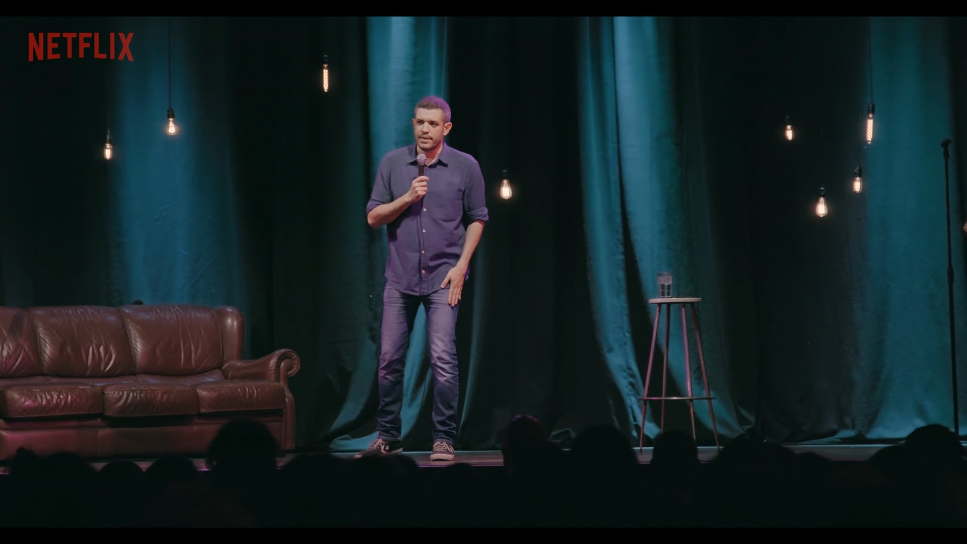 NETFLIX Francesco De Carlo standup comedy