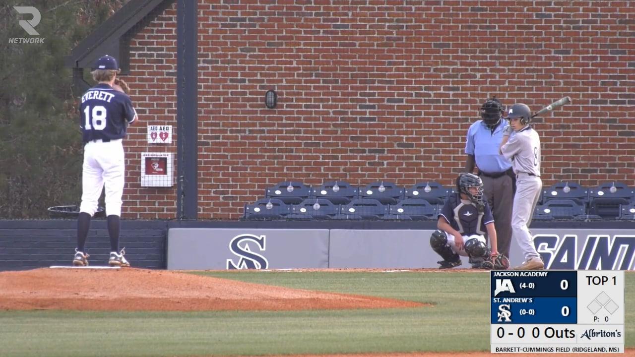 JV Baseball vs St. Andrews - 02-25-21