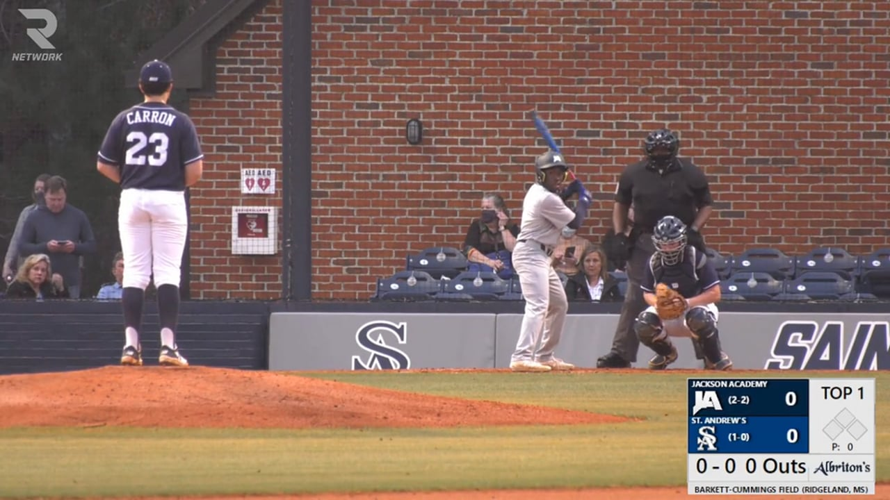Varsity Baseball vs St. Andrews - 02-25-21
