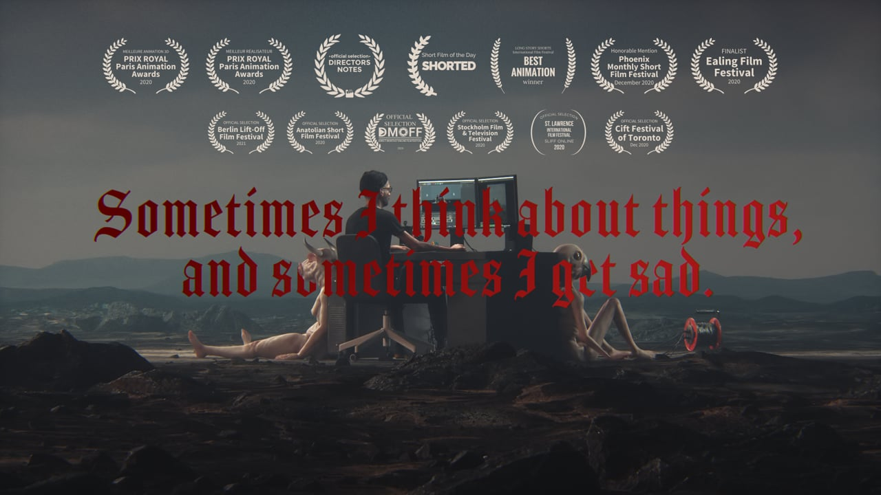 Sometimes I Think About Things, and Sometimes I Get Sad   Short Film of the Day