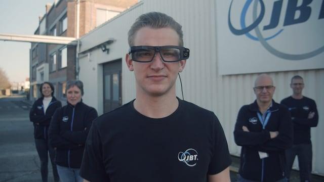 JBT deploys Iristick smart glasses - Augmented Remote Assistance