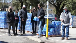 Bottled Water Distribution from Coca-Cola