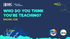 Who Do You Think You're Teaching? with Rachel Coe | KMC 2021