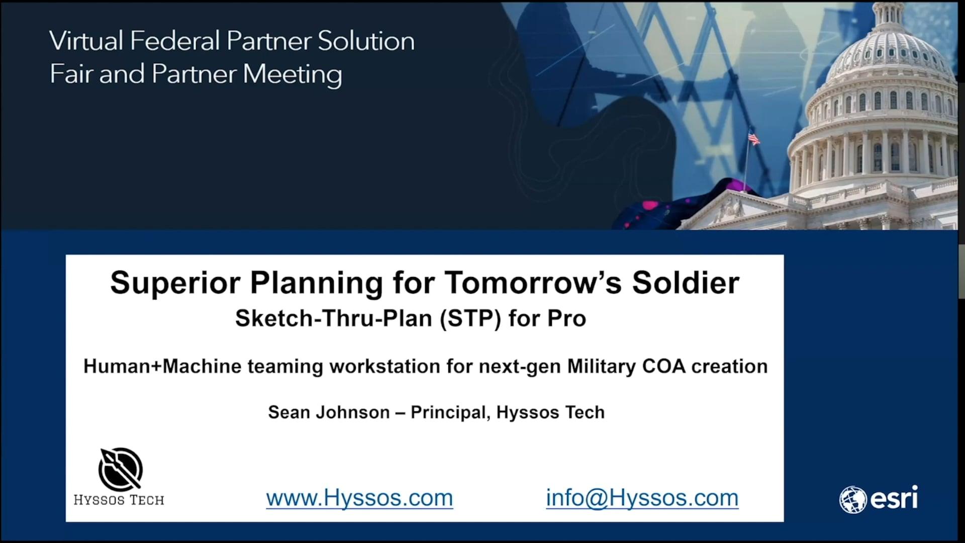 STP for ArcGIS Pro - full presentation