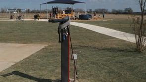 Bicycle Repair Station at Trailblazer Park