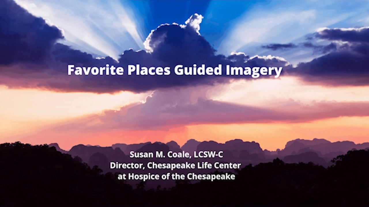 Favorite Places Guided Imagery