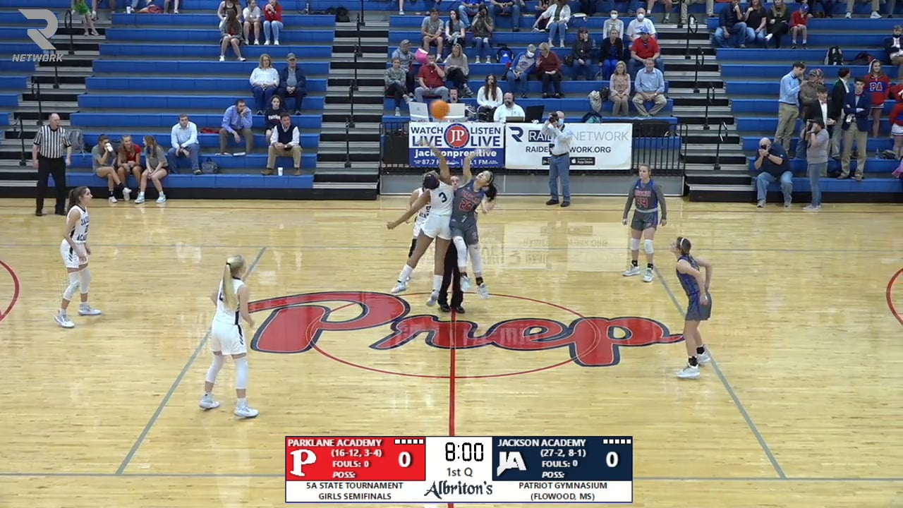 Varsity Girls Basketball vs Parklane - 02-26-21