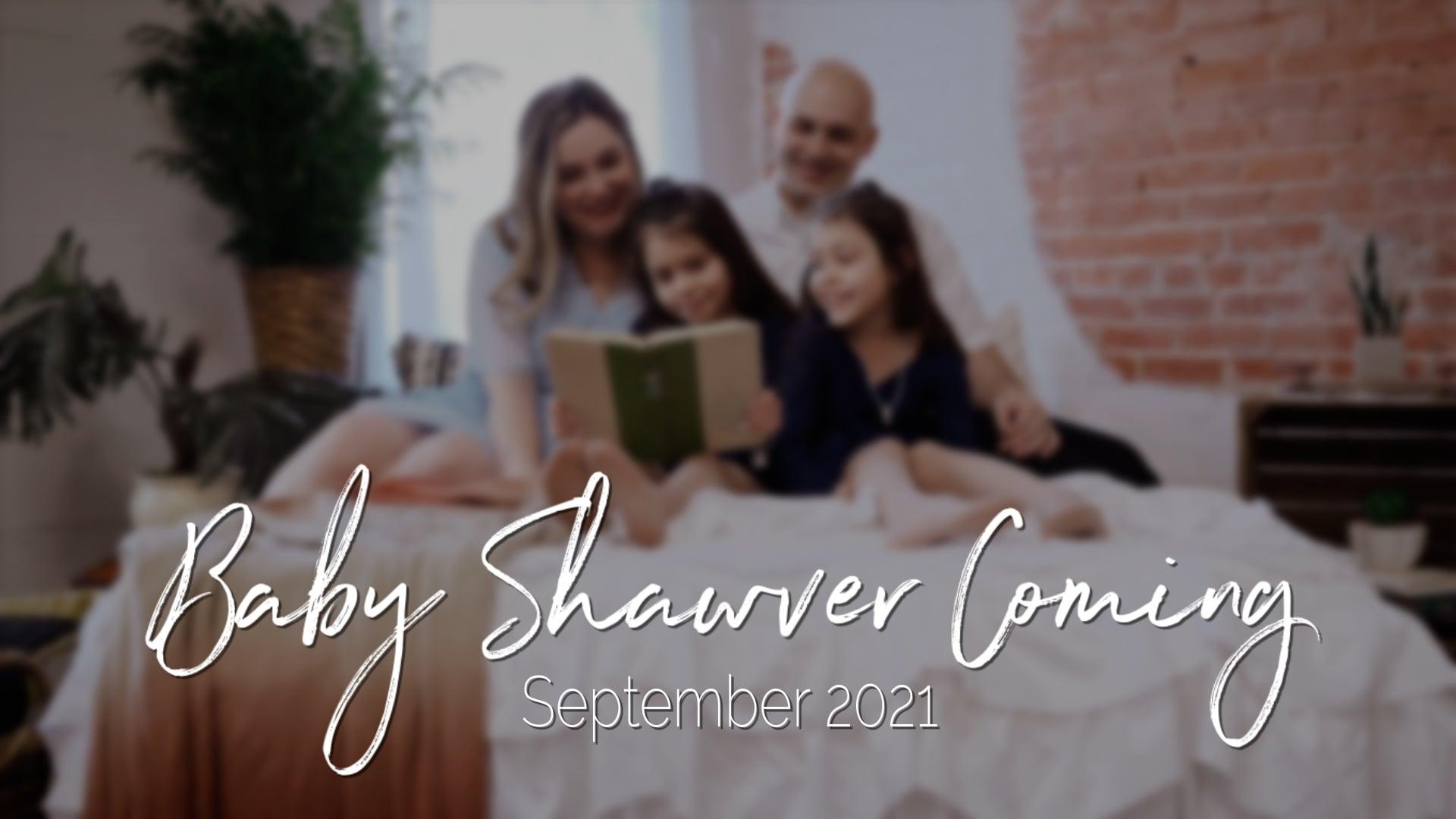 Shawver Pregnancy Announcement