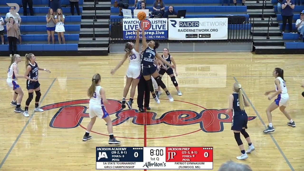 Varsity Girls Basketball vs Jackson Prep - 02-27-21