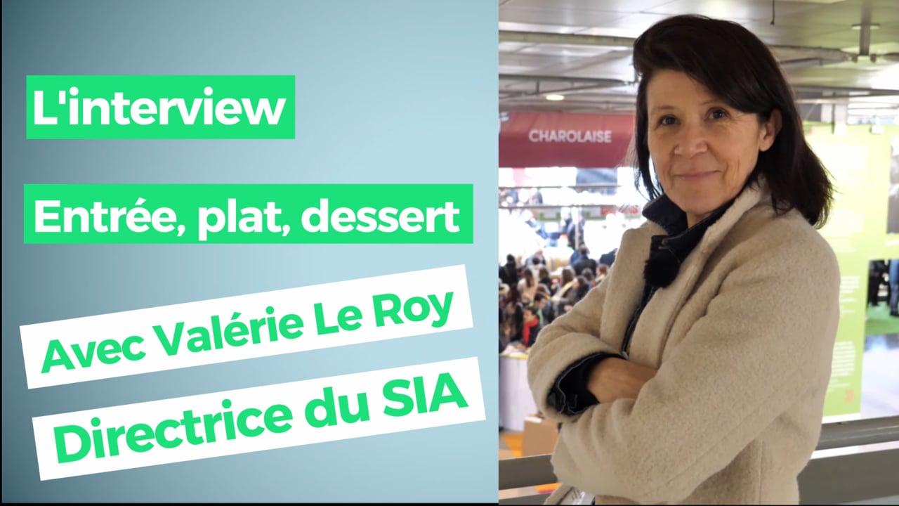 """Valérie Le Roy, Directrice du SIA : """"J'ai une passion pour le fromage de chèvre"""""""