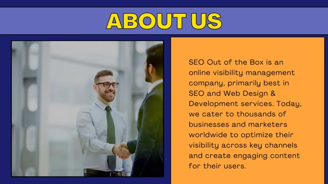 Affordable SEO Agency| Best SEO Agency  - SEO Out Of The Box