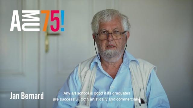 Z Filmové a televizní fakulty AMU posílá přání profesor Jan Bernard, pedagog, historik, a teoretik filmového umění.