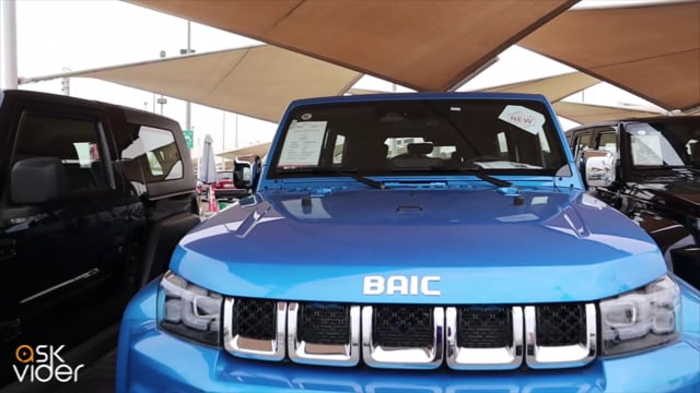 NEW! BAIC BJ40 - BLUE - 2...