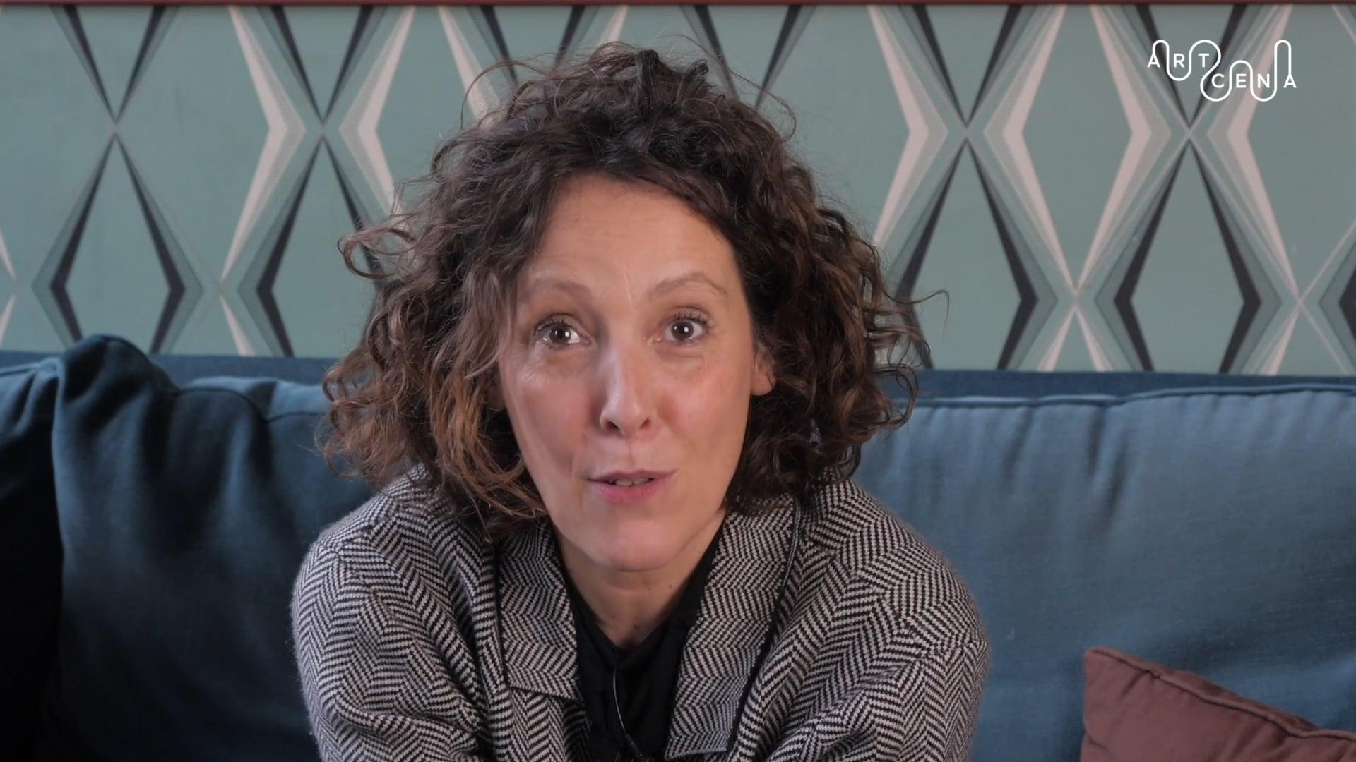 """Estelle Savasta présente """"Lettres jamais écrites"""", lauréat de Contxto 2019/2020"""