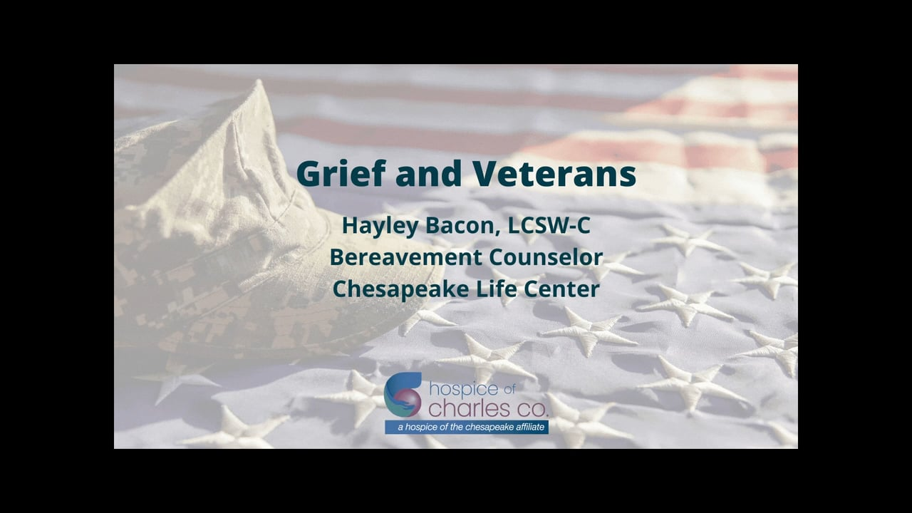 Grief and Veterans