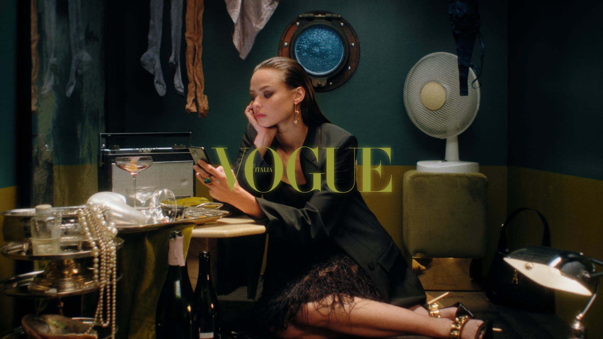 Through the Storm - Vogue Italy