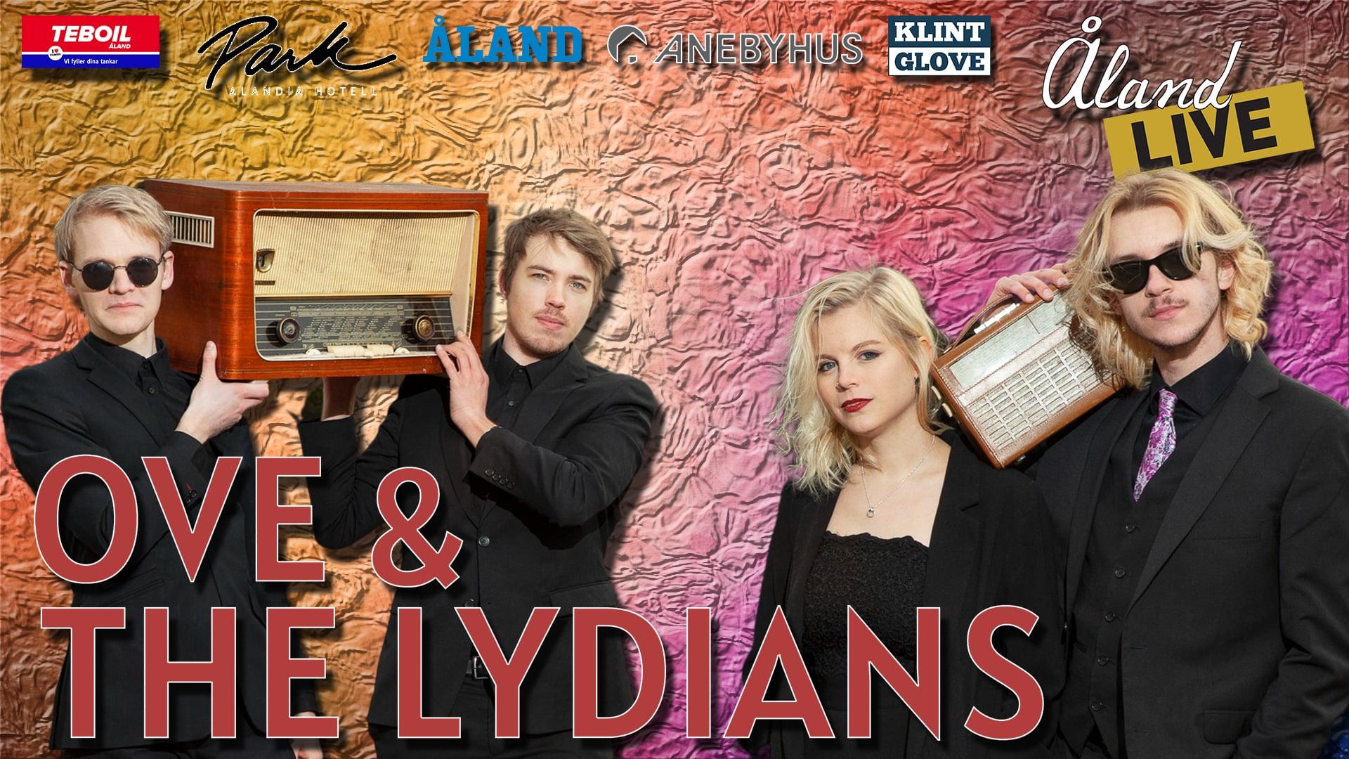 ÅlandLIVE Goes Rock n' Roll med Ove & The Lydians!