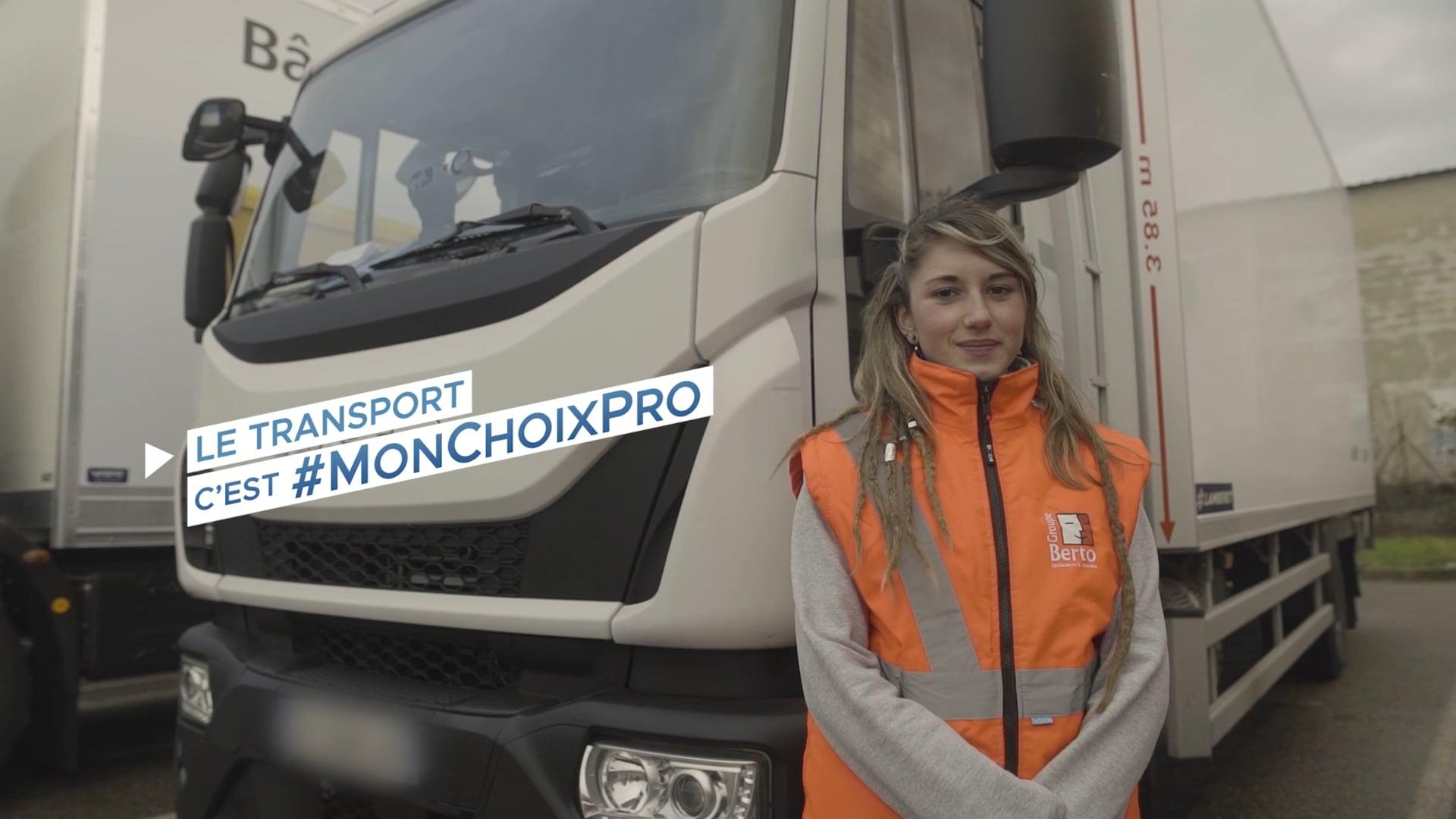 #MonChoixPro | Transport