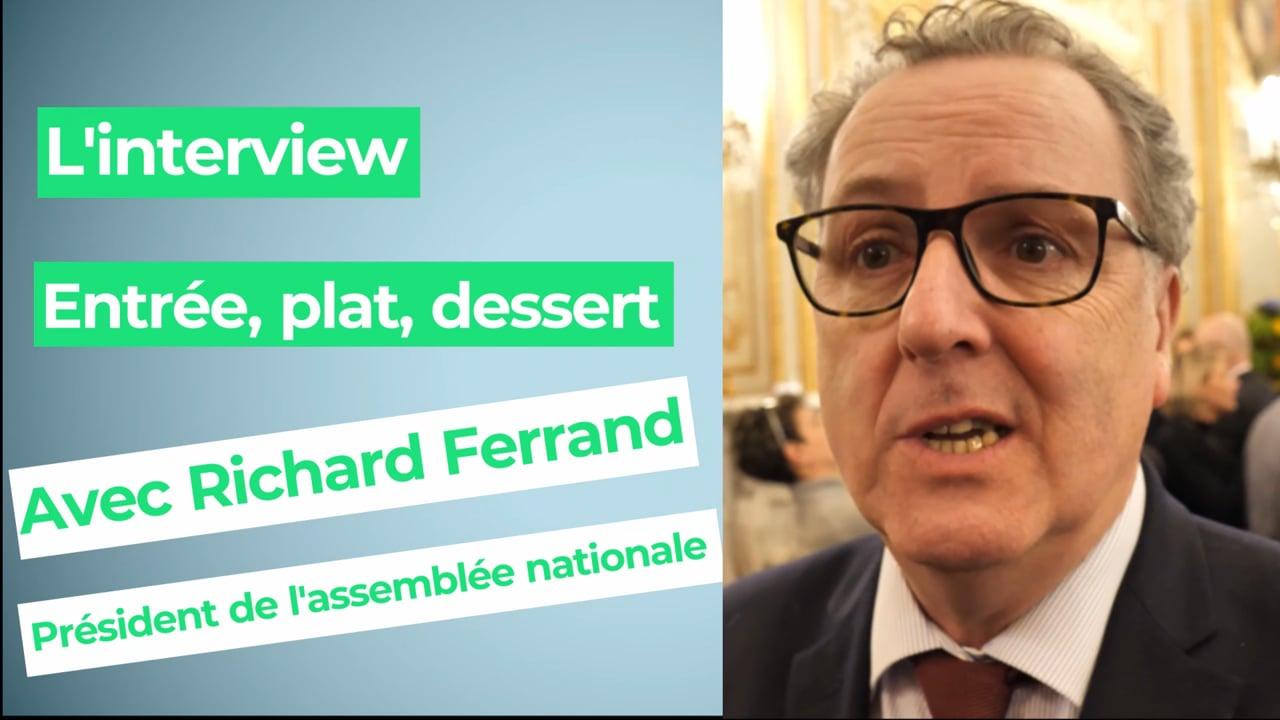Richard Ferrand, président de l'assemblée nationale : « Je ne fais pas de régime »