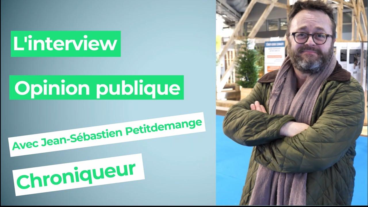 Jean-Sébastien Petitdemange, chroniqueur : « 2h13, c'est le temps pour mon petit déjeuner »