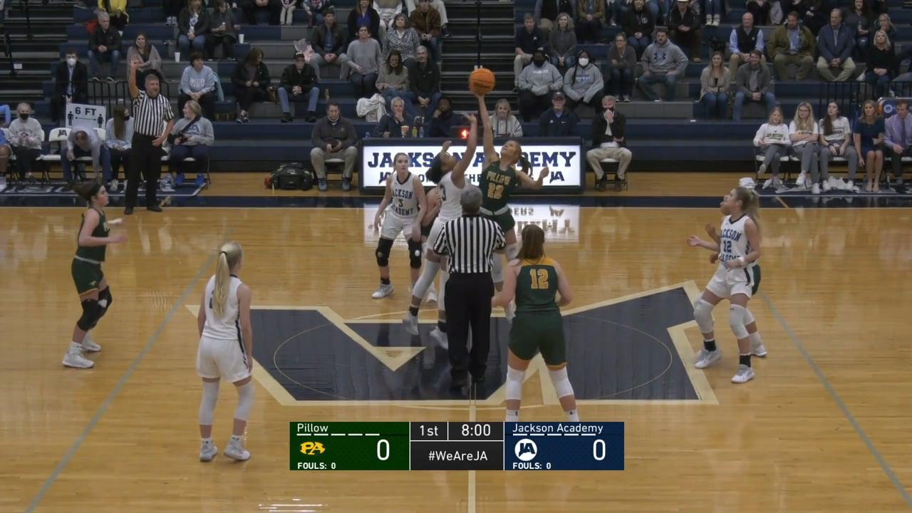 Varsity Girls Basketball vs Pillow Academy - 03-02-21